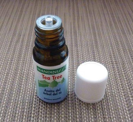 Probamos el Aceite esencial de Árbol del té Mandini. Consejos de uso y mil usos