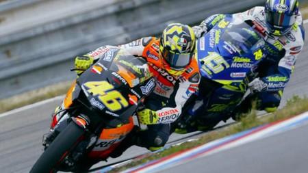 Rossi Gibernau Brno Motogp 2003