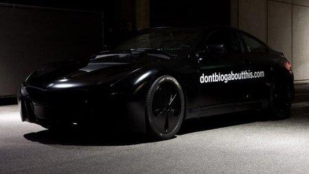 El misterioso BMW Serie 6 híbrido con frontal de Vision EfficientDynamics