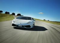 Lamborghini Huracan en pista