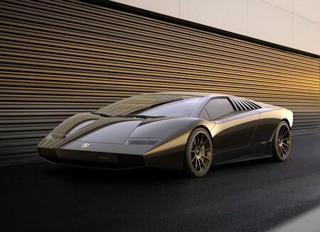 Lamborghini Countach 50 Omaggio: un sueño hecho diseño para conmemorar el aniversario del Countach original