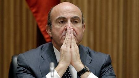 Las previsiones de De Guindos para 2013 son papel mojado