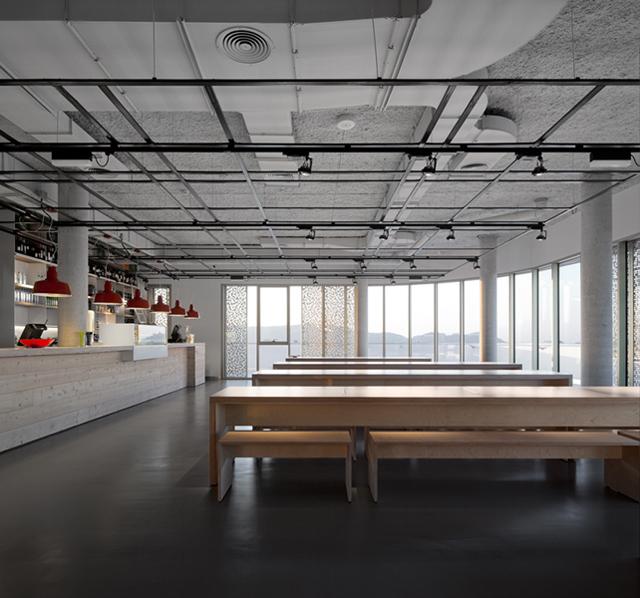 Foto de Espacios para trabajar: Basque Culinary Center (4/14)