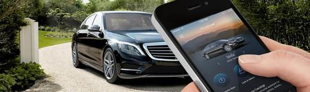Mercedes Mbrace apps en coche