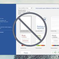 Cómo saltarse la pantalla de inicio en Office e ir directo a editar documentos