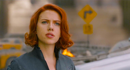 celebrities rubio pelirrojo melena cabello pelo  Scarlett Johansson