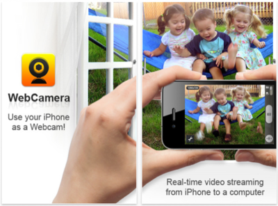Usa tu iPhone como webcam