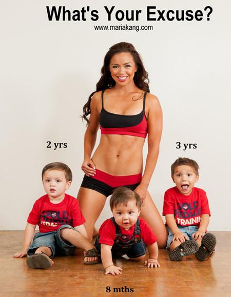 ¿Hay que disculparse por ser madre de tres hijos y estar estupenda?