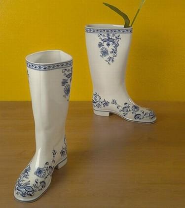 Waterproof, un florero muy bien calzado