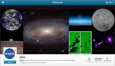 Disfruta ahora de las fotografías de la NASA en Instagram