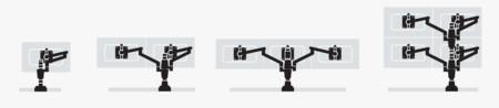 Flo Monitor Arm Suggested Setups