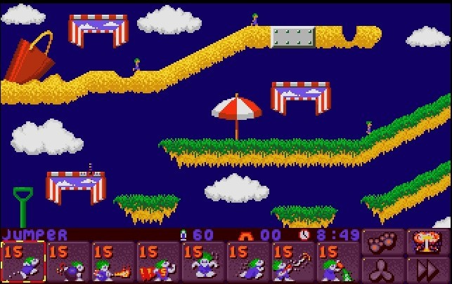 Lemmings 3 - All New World of Lemmings (Psygnosis, 1994)