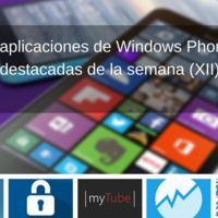 5 aplicaciones de Windows Phone destacadas de la semana (XII)