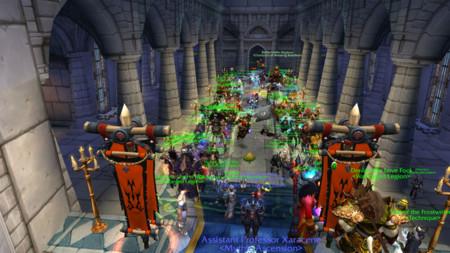 Así se vive una boda de la Horda en World of Warcraft... ¡en la ciudad de la Alianza!