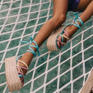 13 sandalias de esparto (con plataforma) para ver la vida desde las alturas