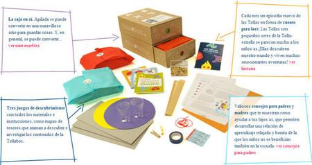 Cajas Tollabox: una experiencia de diversión en familia que permite a los niños desarrollar su creatividad