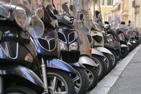 Roma, el paraiso de los scooter