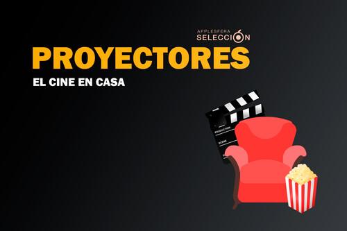 El cine en casa con un proyector y Apple TV, Fire TV o Chromecast: nueve propuestas para disfrutar de películas a lo grande