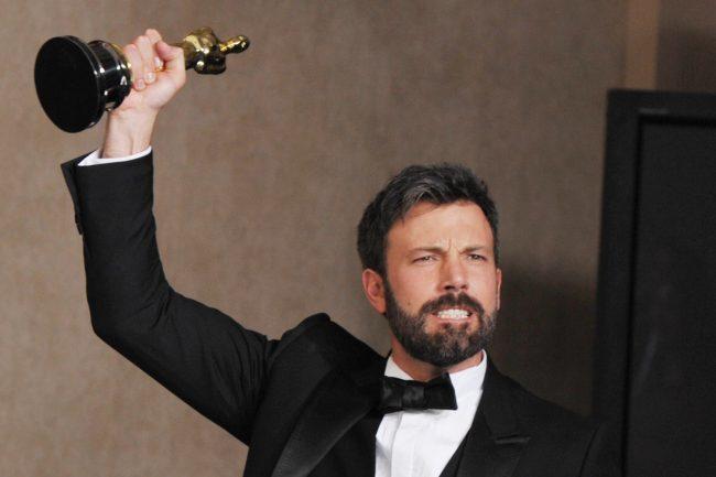 Ben Affleck y su Oscar por 'Argo'