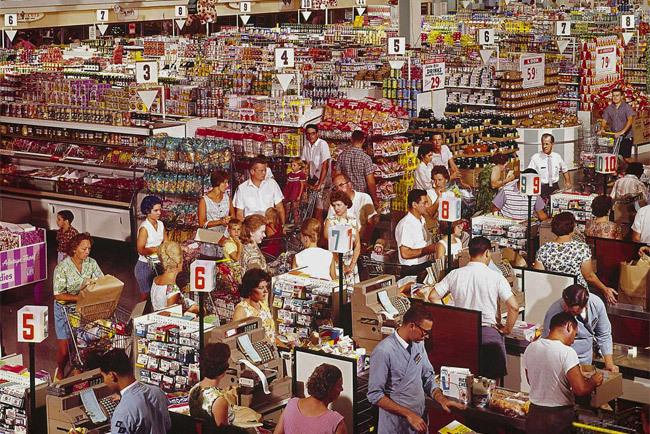Donación alimentos supermercados