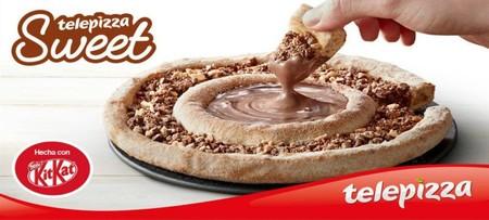 Siete pizzas dulces por si queréis sumaros a la moda de Telepizza