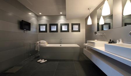 Casa norma duval en tagomago - baño