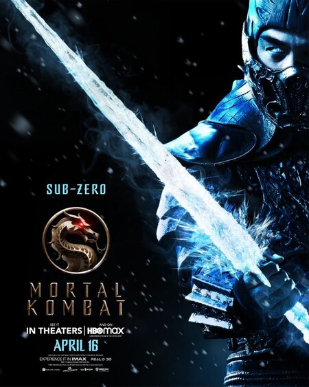 Mortal Kombat Character Poster Sub Zero