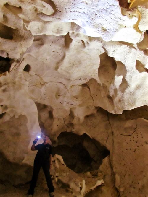 La Cueva del Puerto en Calasparra, Murcia: el tiempo entre columnas (y entre estalactitas...)
