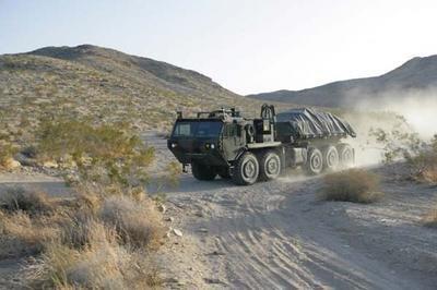 Terramax, camión de transporte sin conductor