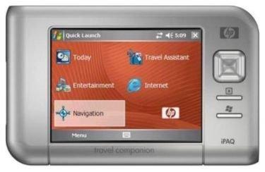 HP iPaq RX5915, PDA con módulo GPS
