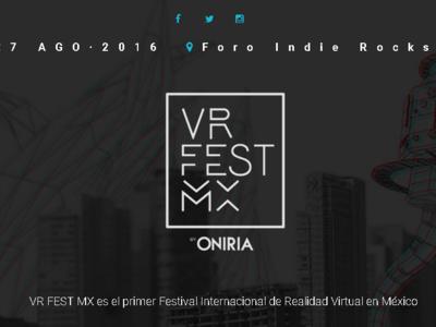 VR Fest Mx, el primer festival internacional de realidad virtual en la Ciudad de México