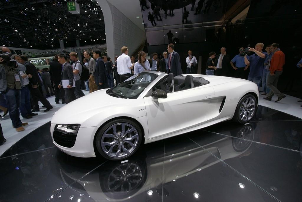 Foto de Audi R8 Spyder en el Salón de Fráncfort 2009 (1/5)