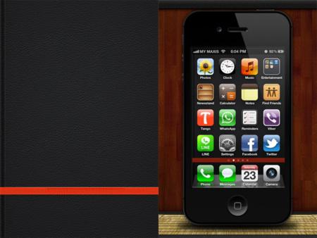 Fondo para el iPhone de Moleskine