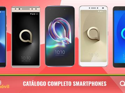 Así queda el catálogo completo de smartphones Alcatel tras las novedades presentadas en el MWC 2018