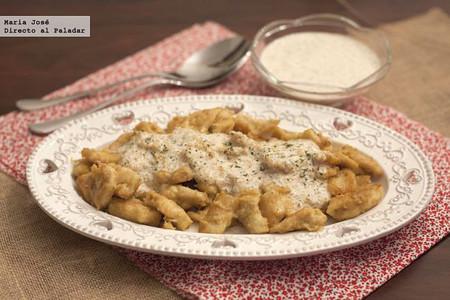Receta de pollo al curry con cacahuetes