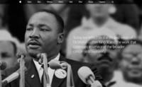 """Tengo un sueño"", Apple rinde homenaje a Martin Luther King"