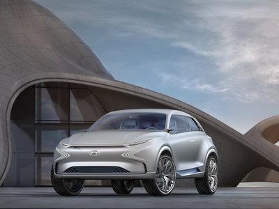 El Hyundai FE Fuel Cell Concept anticipa un SUV coreano a hidrógeno el próximo año