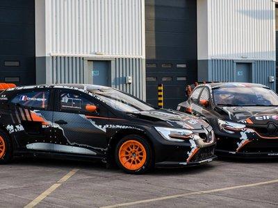 Con más de 600 CV, este Renault Mégane R.S RX de Rallycross es la última bestia de Prodrive