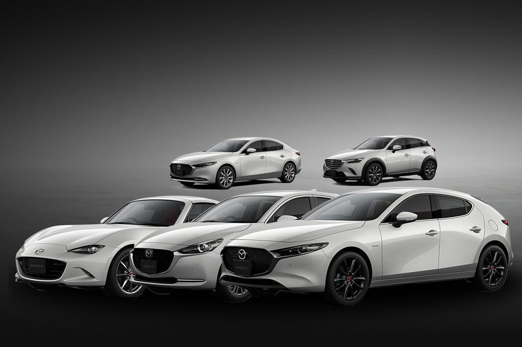 Los Mazda 100º Aniversario ya están en México: ediciones limitadas para Mazda2, Mazda3, CX-3 y MX-5