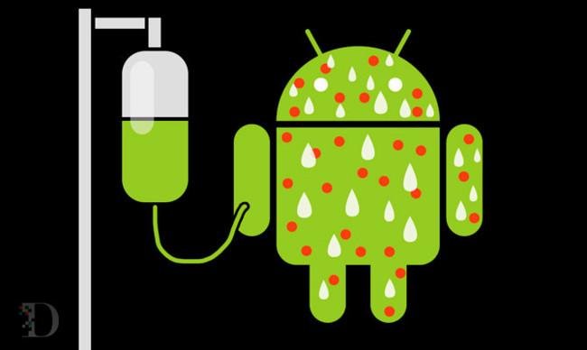 Android, caldo de cultivo para virus
