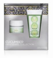 CND: Cucumber Hand and Heel Collection edición limitada en un pack navideño. Lo probamos