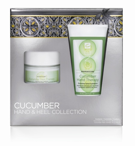 CND: Cucumber Hand and Heel Collection edición limitada en un pack navideño. Lo probamos