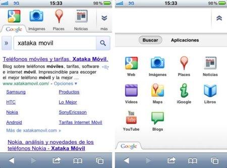 Google rediseña de nuevo su portal móvil con más contenidos visuales