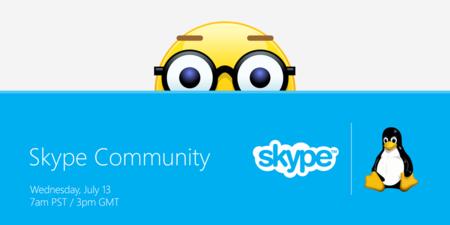 Skype anuncia buenas noticias para Linux la semana que viene, ¿habrá nuevo cliente oficial?