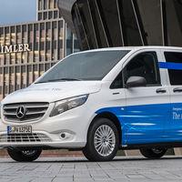La Mercedes-Benz eVito es una furgoneta 100% eléctrica que ofrece 150 km de autonomía por 42.900 euros