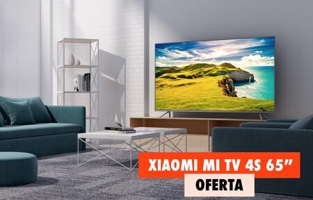 La tele de Xiaomi con pantalla 4K de 65 pulgadas y Android a precio de Black Friday en la Red Night de MediaMarkt: por 200 euros menos