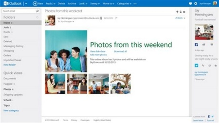 Outlook termina la fase beta: Los usuarios de Hotmail serán trasladados  este verano