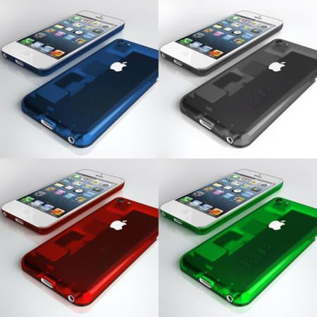 iPhone multicolor de bajo coste