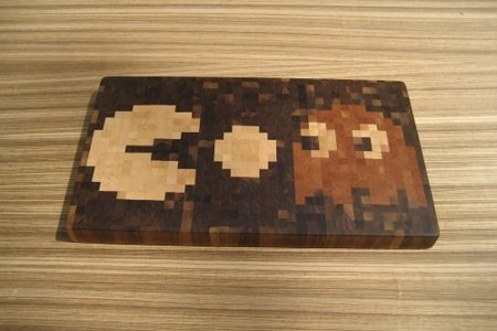 Tabla de cortar de Pacman