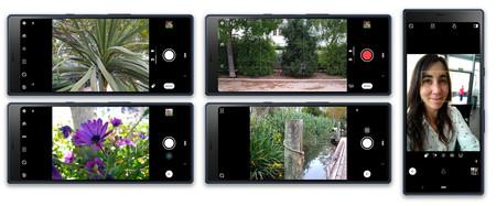 Sony Xperia 10 Plus App Camara